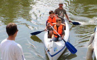 Kajakos csatornatúra: vízi sportéletet a Sióra!
